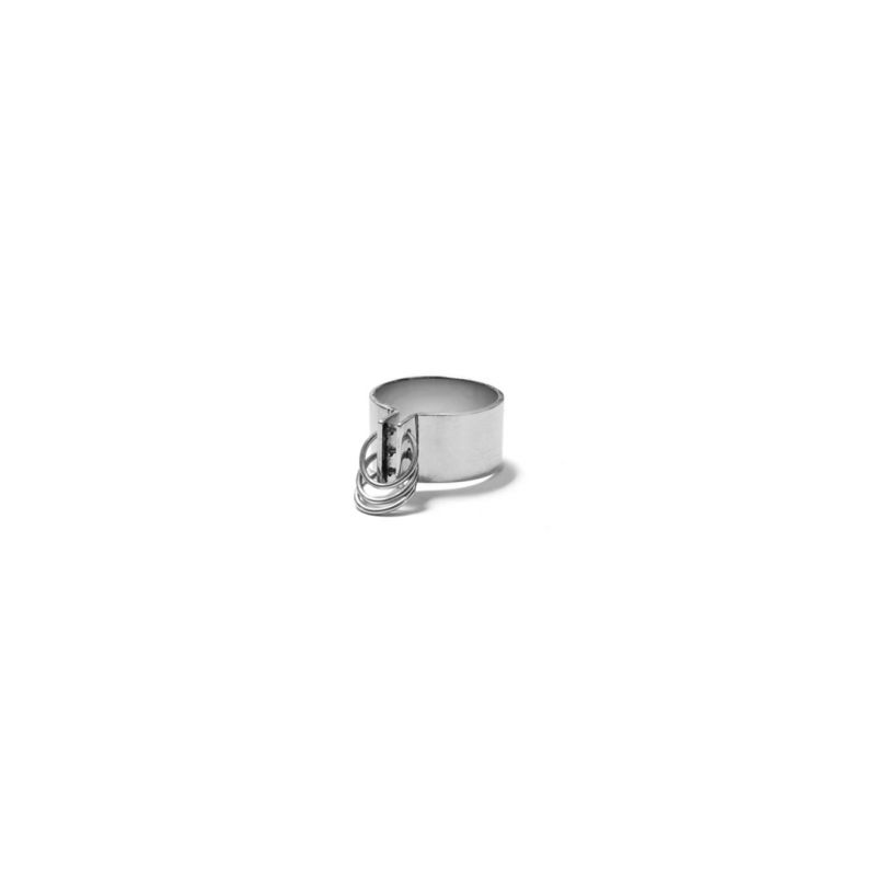 No. 7  - hoop ring small | MR7H - SS