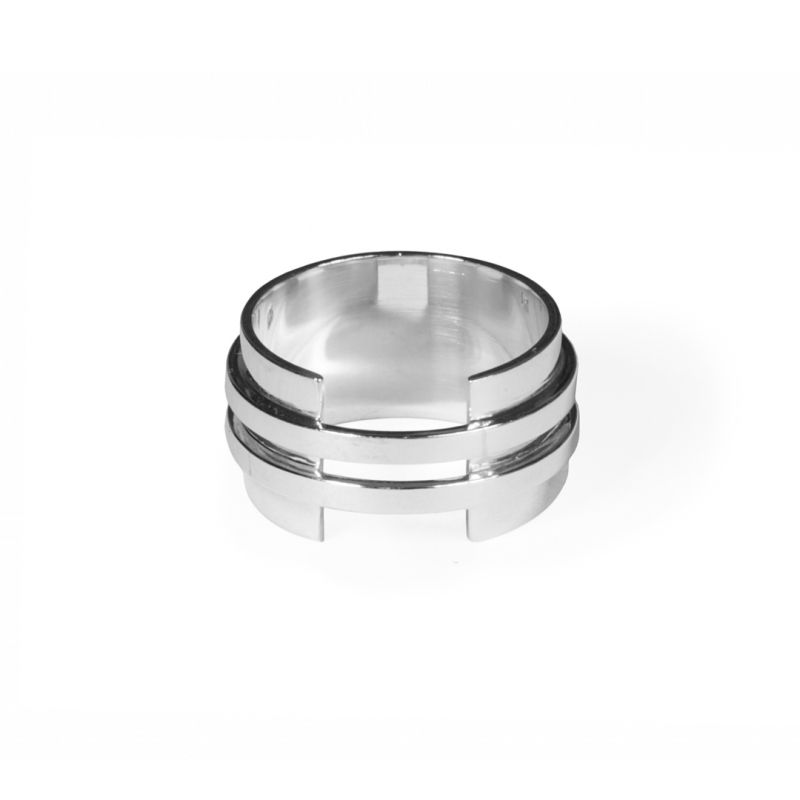 Double band plate - ring | MRDBP - SS