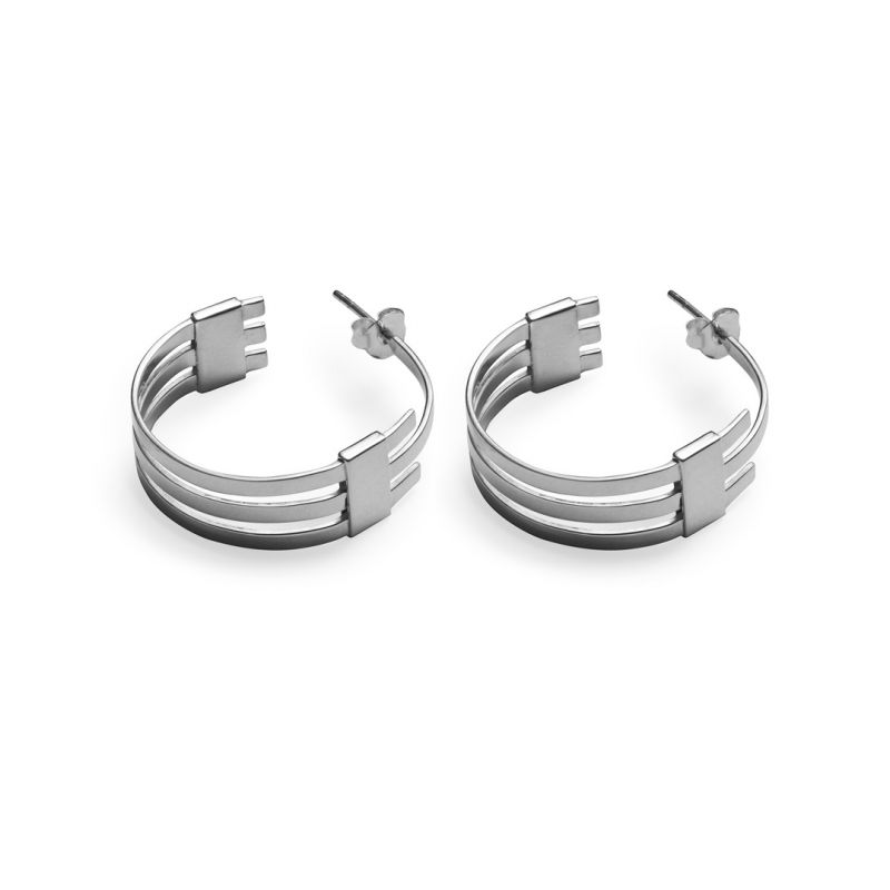 SL hoop small - earrings | MESLHPS - SS