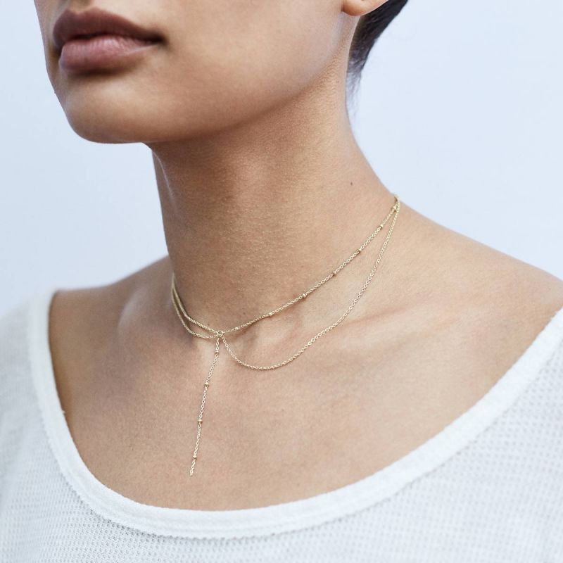 Anchored - necklace | MNA-YGP