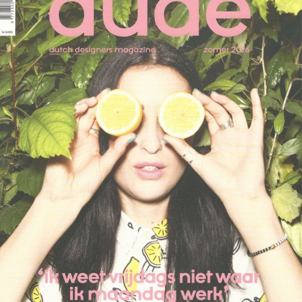 Monocrafft in Dude - Dutch designers magazine