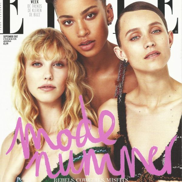 Monocrafft in September issue of  ELLE magazine NL