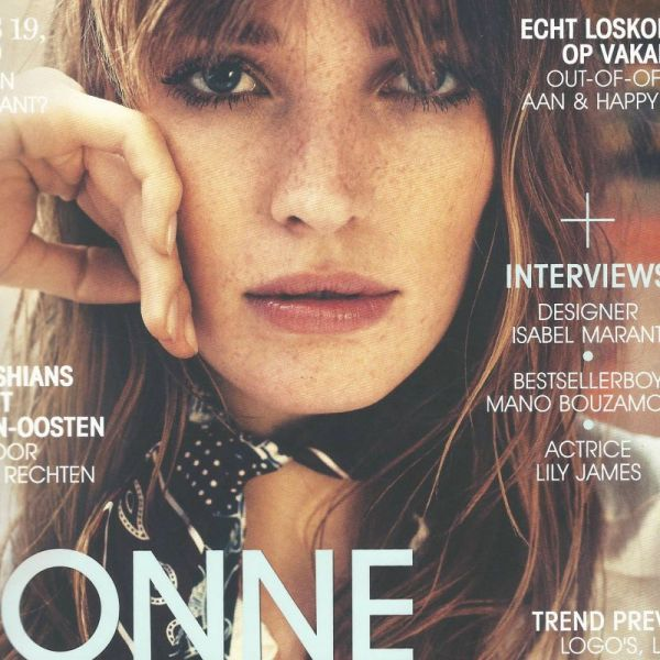 Monocrafft in Marie Claire September issue