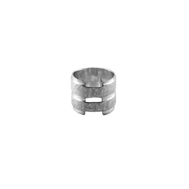 Double band plate large - ring SS