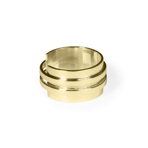 Double band plate - ring | MRDBP - YGP