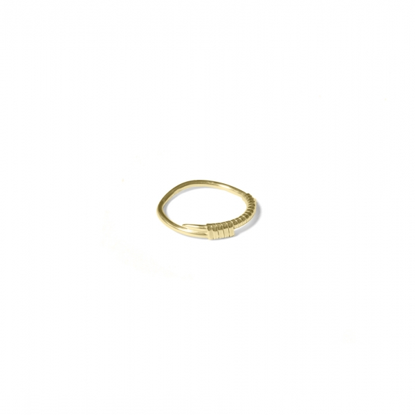 Anchored - ring small | MRAS-YG
